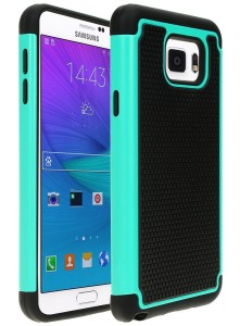 Galaxy Note 5 Case, Cafeleo 2 in 1 Shield Case 2-Piece Style Slim Thin Shockproof Case Hard Rugged Ultra Protective Back Rubber Cover Footba (2)