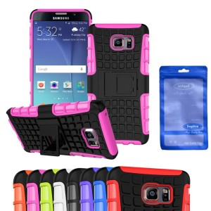 Galaxy Note 5 Case, Sophia Shop 2 in 1 Heavy Duty Hybrid High Impact Kickstand Case TPU Rubber + PC Dual Layer Armor Defender Rugged Cover F