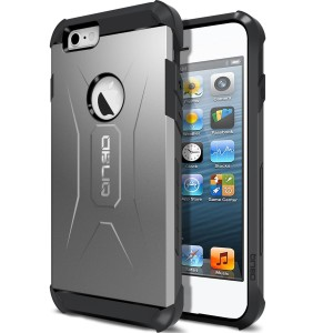 iPhone 6S Case, OBLIQ [Xtreme Pro][Gun Metal] Hybrid Rugged Dual Layered All-Around Shock Slim Resistant TPU Armor Shock Resistant Case for Apple iPhone
