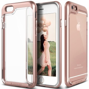 iPhone 6S case, Caseology® [Skyfall Series] [Rose Gold] DIY Customization Fusion Hybrid Cover [Shock Absorbent] for Apple iPhone 6S (2015) & iPhone 6 (2