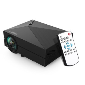 2015 Tronfy Full Color 130 Entertainment Home Cinema Theater Multimedia Portable LCD LED Pico Projector 800x480p Optical Keystone Usbavsdhdmivga Inte