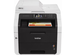 Brother MFC9330CDW Wireless All-In-One Color Printer with Scanner, Copier and Fax