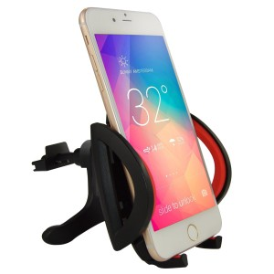 Car Mount,Ipow® Universal Smartphone Car Air Vent Mount Holder Cradle for iPhone 6 6+ 5s,5,iPod Touch,Samsung Galaxy S5,S4,S3