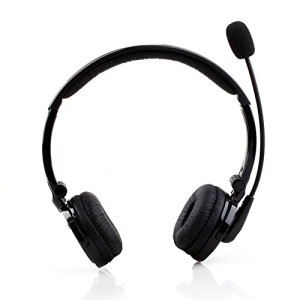 Cisno Trucker Driver Bluetooth A2DP Music Stereo Crystal Voice Headset For ip