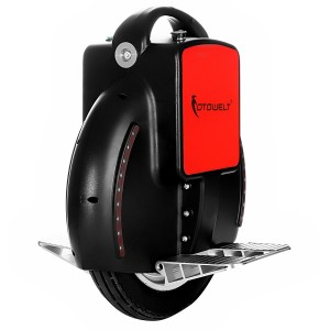 Fotowelt Self Balancing Unicycle Electric Scooter 60v-174wh with LED Light and Training Wheels