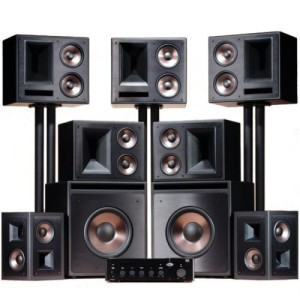Klipsch THX Ultra2 Home Theater System-brand New-black