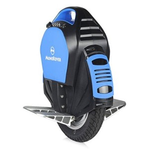 MonoRover R3 Electric Scooter 132Wh Single Wheel Self Balancing Unicycle with Bluetooth Speakers