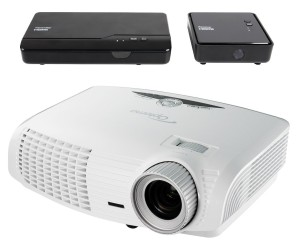 Optoma HD25-LV-WHD 1080p 3D DLP Home Theater Projector (2015 Model)