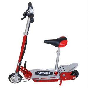 Overwhelming E120 Electric Scooter Excellent Kids Gift Red Black