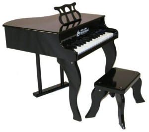 Schoenhut 30-Key Fancy Baby Grand with Bench
