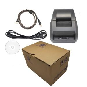 Smart&Cool® SC-58H USB POS Printer with 58mm Thermal Paper Rolls - 90mmsec High-speed Printing (Black)
