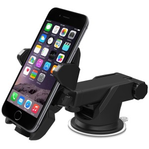 iOttie Easy One Touch 2 Car Mount Holder for iPhone 6s Plus 6s 5s 5c, Samsung Galaxy S6 Edge Plus S6 S5 S4, Note 5 4 3, Googl
