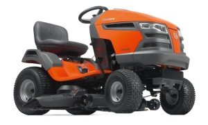 Husqvarna YTH23V48-CA 48-Inch 724cc 23 HP Briggs & Stratton Intek V-Twin Pedal Activated Hydrostatic Transmission Riding Lawn Tractor (