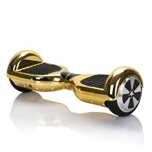 Skeeterboard® Smart balance hoverboard scooter GOLD MIRROR FINISH NEW