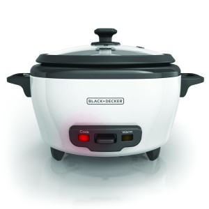 BLACK+DECKER RC506 3-Cup Dry6-Cup Cooked Rice Cooker, White