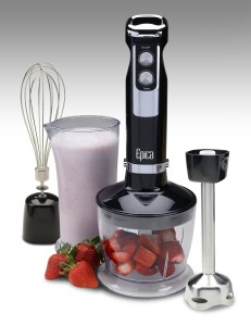 Epica 4-in-1 Heavy Duty Hand Blender includes Puree Attachment