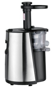 Chef's Star Slow Masticating Juicer - Stainless Steel Black