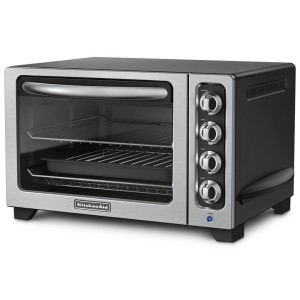 KitchenAid KCO222OB Countertop Oven, Onyx Black