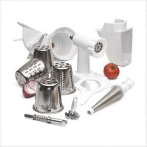NEW KitchenAid FPPA Mixer Attachment Pack for 4.5-5-6 and 7 quart Stand Mixers