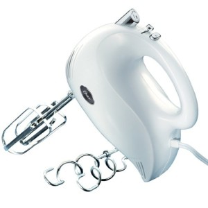 Oster 2500 Inspire 240-Watt 5-Speed Hand Mixer, White