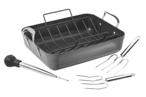 Calphalon Contemporary Nonstick Roaster Set