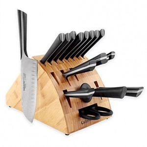 Calphalon Katana Series 18-Piece Cutlery Knife Block Set