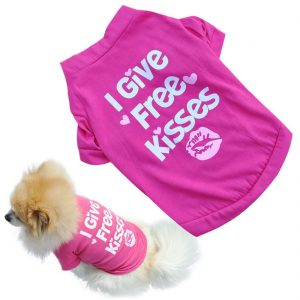 Binmer(TM)Fashion Pet Dog Clothes Cat Puppy Pet Puppy Spring Summer Shirt Small Pet Clothes Vest T Shirt