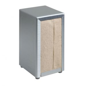 Tork 1TBS Napkin Table Dispenser, Brushed Steel, Brushed Steel
