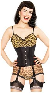 Playgirl Label Strong Steel Boned Waist Reducing Trainer Underbust Shaper Corset