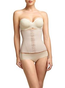 Squeem - Perfectly Curvy, Women's Firm Control Strapless Waist Cincher