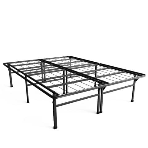 Zinus Casey 18 Inch Premium SmartBase Mattress Foundation 4 Extra Inches high for Under-bed Storage Platform Bed Frame Box Spring Replacement Strong...