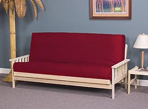 World of Futons Full Size Savannah Futon Sofa Bed - Frame Only
