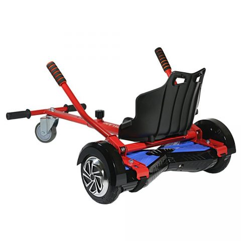 Pilan Cool Mini Kart Hoverboard Accessories for Adjustable -All Heights- All Ages- Self Balancing Scooter -Compatible with All Hoverboards