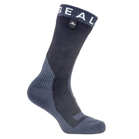 SEALSKINZ Waterproof Trekking Thick Mid Sock