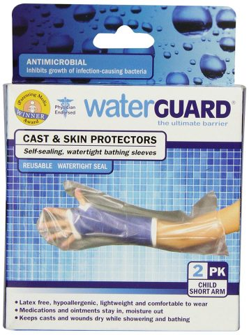 WaterGUARD - Cast and Skin Protector - Adult Short Arm - 2 Count