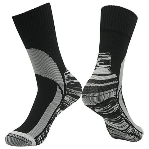 100% Waterproof Breathable Socks, [SGS Certified] RANDY SUN Unisex Novelty Sport Skiing Trekking Hiking Socks 1 Pair