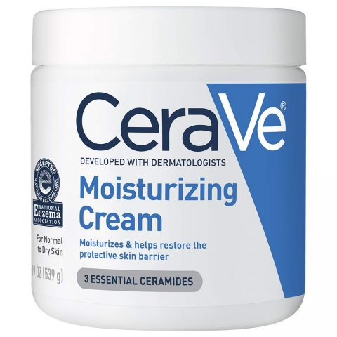 CeraVe Moisturizing Cream 19 Ounce Daily Face and Body Moisturizer for Dry Skin Packaging May Vary