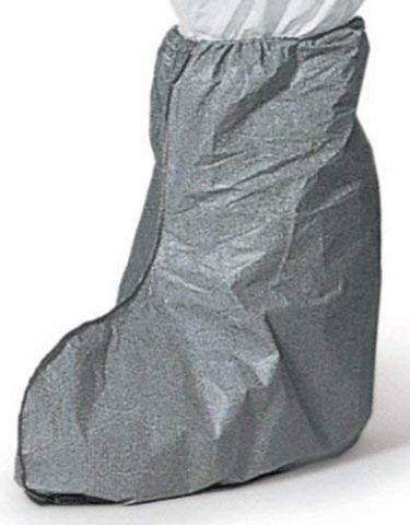 DuPont Shoe Boot cover with surged seams and elastic top