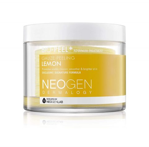 NEOGEN DERMALOGY BIO PEEL GAUZE PEELING (WINE, LEMON, GREEN TEA) 30 RESURFACING EXFOLIATION PADS 8PADS