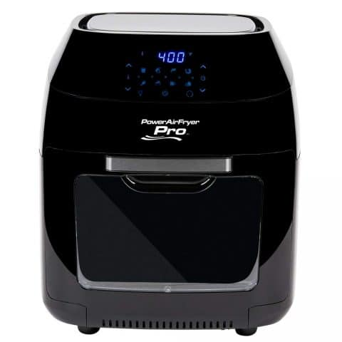 PowerXL Air Fryer Pro 6 Qt with 7 in 1 Cooking Features with Rotisserie