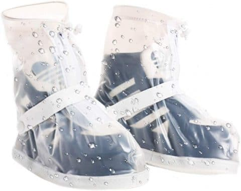 VXAR Rain Boot ShoeCover Waterproof Transparent XL