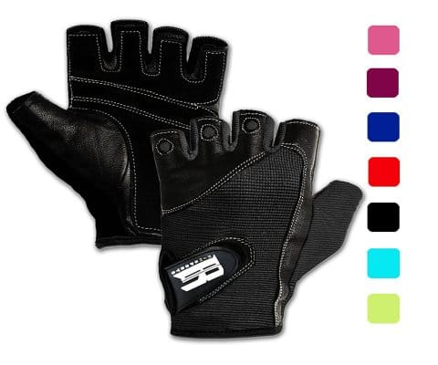 RIMSports Gym Gloves for Powerlifting, Weight Training, Biking, Cycling - Premium Quality Weights Lifting Gloves Workout Gloves wWashable for Callus and Blister Protection!