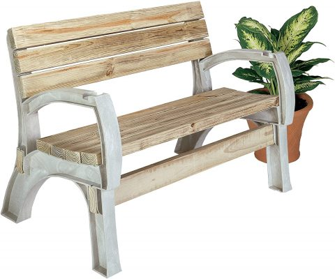 2x4basics 90134ONLMI Custom AnySize Chair or Bench Ends, Sand (lumber not included, only supports)