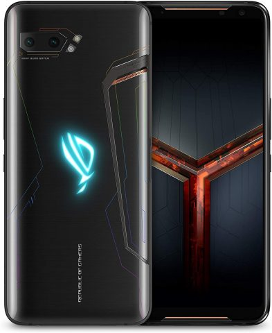 "ASUS ROG Phone 2 (New) Unlocked GSM US Version & Warranty, 512GB Storage, 12GB RAM, 6.6"" FHD+ AMOLED 120Hz Display, Snapdragon 855 Plus, No Volte, Gaming Smartphone (ZS660KL-S855P-12G512G-BK) (512GB)"