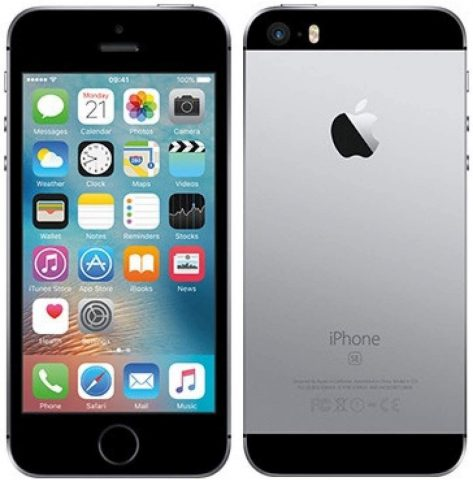 Apple iPhone SE, 64GB, Gold - For AT&T T-Mobile (Renewed)