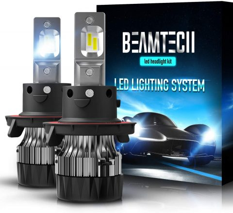 BEAMTECH-H13-LED-Headlight-Bulbs6500K-10000-Lumens-Extremely-Super-Bright-9008-HiLo-30mm-Heatsink-Base-CSP-Chips-Conversion-KitXenon-White-1