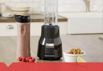 BLACK+DECKER FusionBlade Personal Blender with Two 20oz Personal Blending Jars, Gray, PB1002G