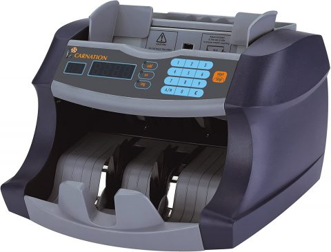CARNATION Professional CR1 Bank-Grade Money Bill Counter