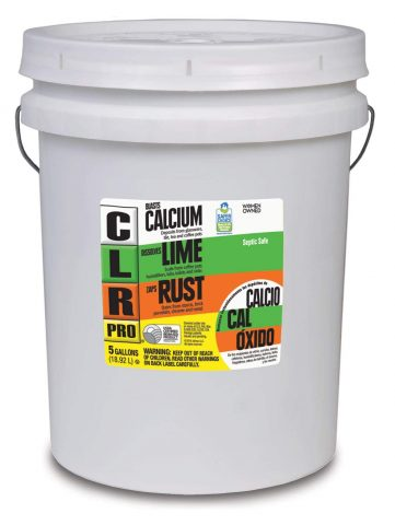 CLR PRO Calcium, Lime & Rust Remover, 5 Gallon Pail
