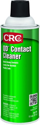 CRC Industries 03130 QD Contact Cleaner,Clear